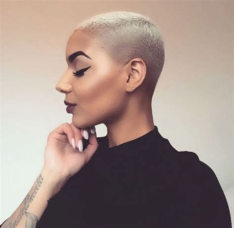 female barber short cuts 167 best bald fade women images on pinterest hair dos