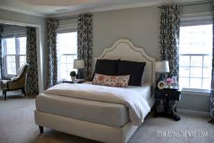 Best Way To Hang Curtain Rods tutorial how to sew diy black out lined back tab curtains
