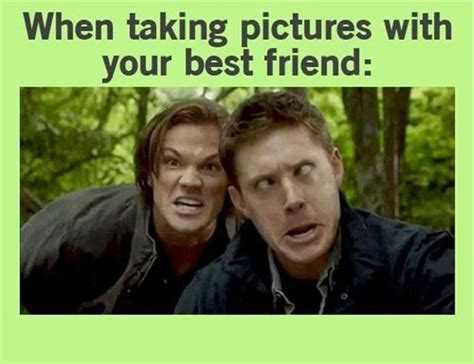 Cute Friend Memes - supernatural funny pictures dump a day