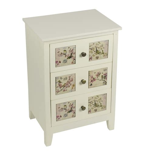 Floral Chest Of Drawers by Floral Fronted 3 Drawer Chest Of Drawers Melody Maison 174