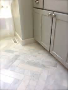 marble bathroom floors best 20 herringbone marble floor ideas on