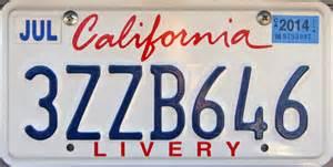 Ca Dmv Vanity Plate by California 4 Y2k