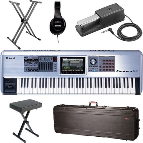 Keyboard Roland G7 Roland Fantom G7 76 Key Keyboard Value Bundle B H Photo
