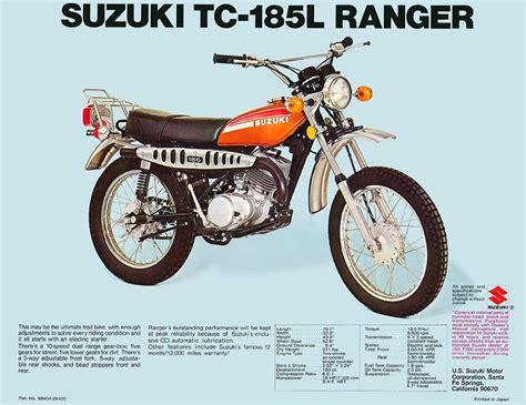 Suzuki Tc185 Suzuki Tc185 Brochures