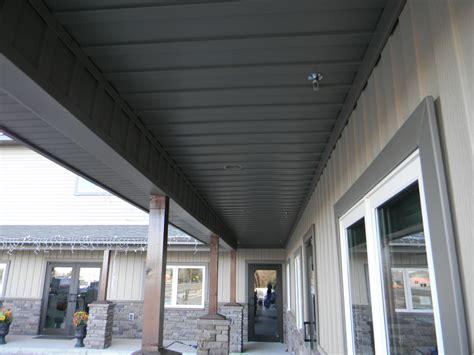 outdoor porch ceiling beam wrap porch ceiling sles wyoseamlesssidinggutter