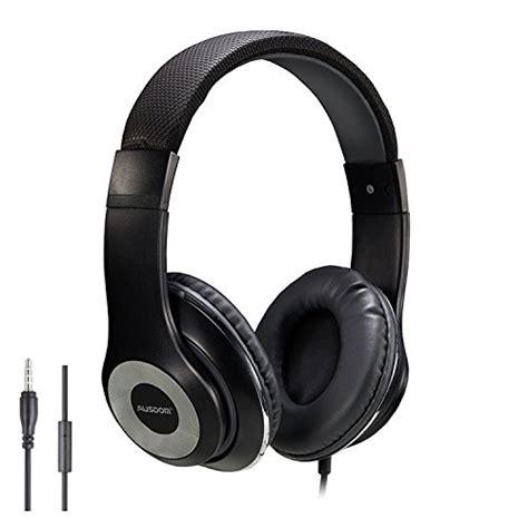 most comfortable around ear headphones ausdom lightweight over ear wired hifi stereo headphones