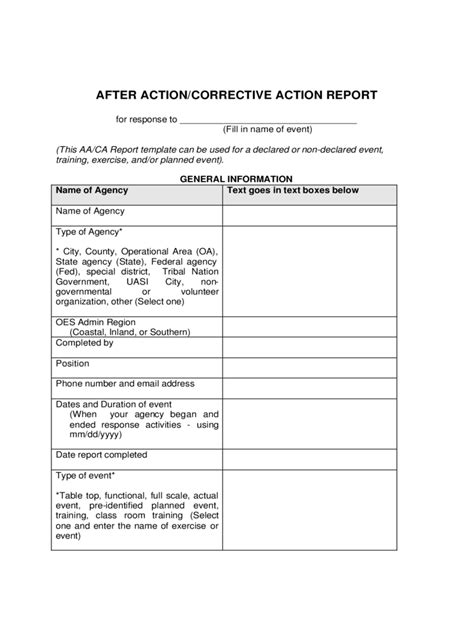 after report sle 28 images event report template 28
