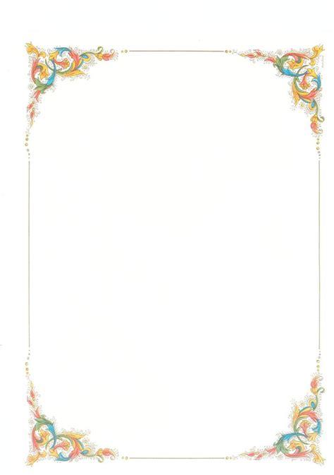 cornice pergamena word pergamena 32x24 5cm fogli singoli