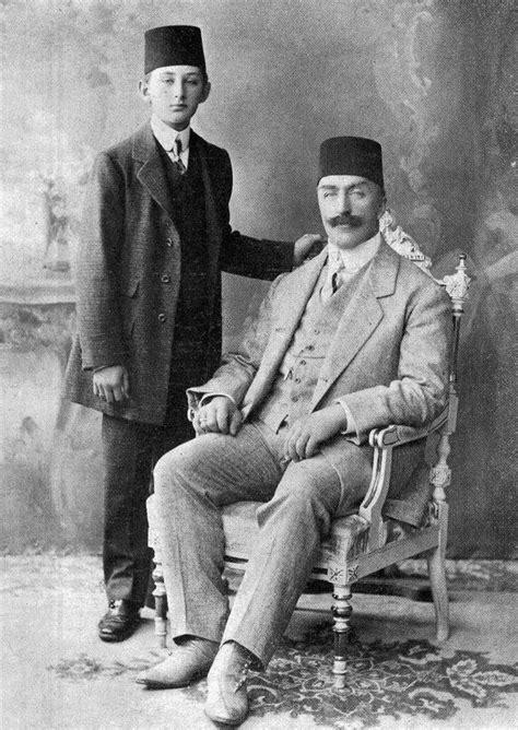 last ottoman sultan last ottoman caliph abdulmecid ii with omar farooq