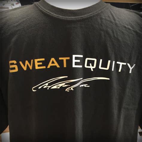 sweat equity gp sweat equity t shirt greg plitt official web site