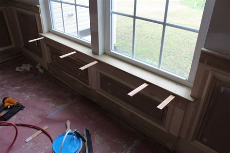 our home from scratch - Window Sill Interior