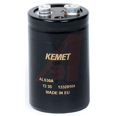 als30a682nt450 kemet aluminium electrolytic capacitor 6800μf 450v dc 77mm can