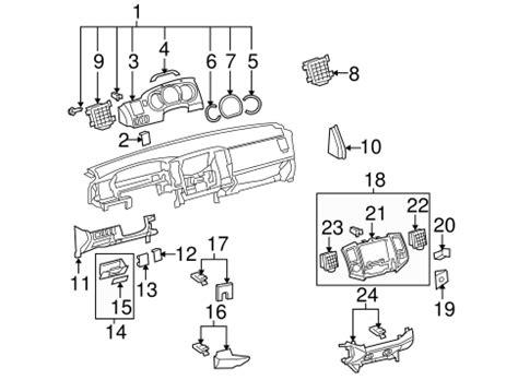 hayes car manuals 2006 toyota tacoma instrument cluster instrument panel components for 2006 toyota tacoma