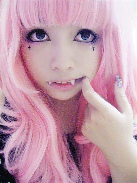 vire tattoo pinterest pastel goth pink hair tumblr cat girl vire pastel goth
