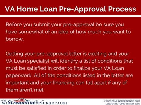 get pre approved for a va home loan vastreamlinerefinance