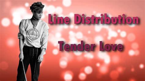 exo tender love exo tender love korean version line distribution