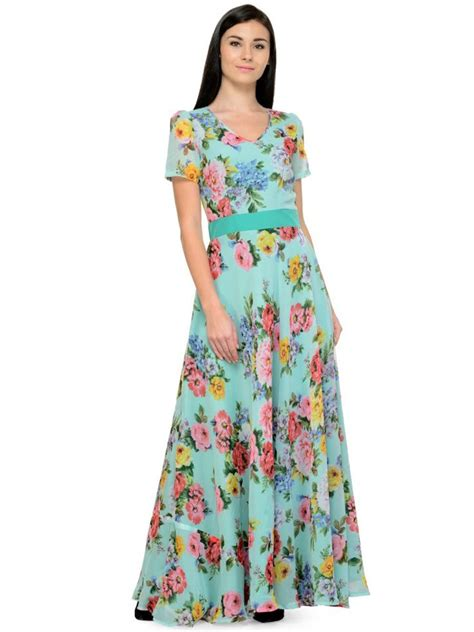 Maxi Sea Green netanya sea green maxi dress skt1089 cilory