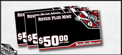 Rover Gift Card - rover plus nine gt rover gift card 50