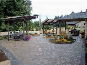 Backyard Entertaining Landscape Ideas Backyard Play Area Ideas This Backyard Entertaining Area Has It All A Concrete Paver