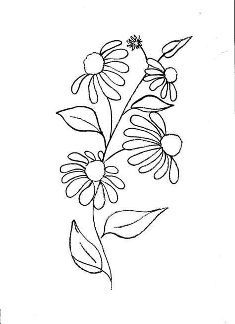easy floral designs simple floral designs for fabric painting www pixshark