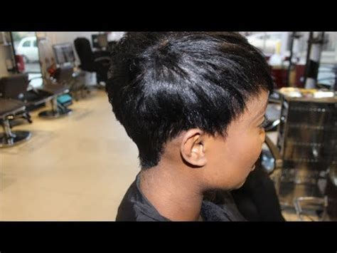 beautican that specialize in short cut in chicago salon work short hair series from natural to pixie youtube