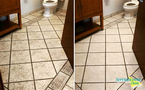 Grout Cleaning Before And After Tile And Grout Cleaning Servicemaster Kalamazoo