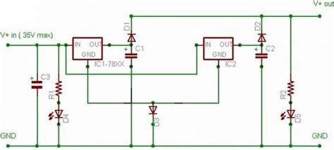 current multiplier circuit diagram electric current doubler for lm78xx regulator ic circuit
