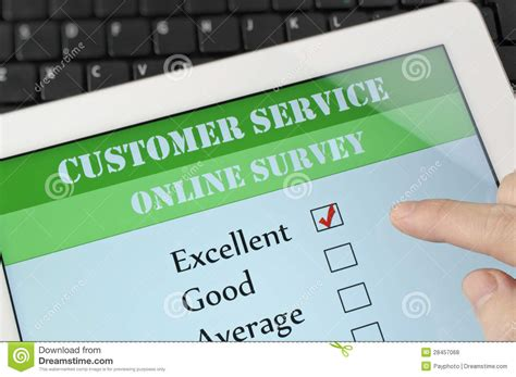 Online Customer Survey - customer service online survey royalty free stock photos image 28457068