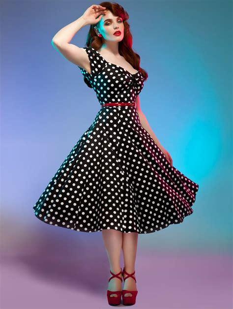 cabaret vintage vintage clothing vintage style dresses vintage style dolores red polka dot swing dress vintage