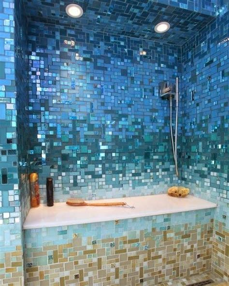 under the sea themed bathroom 40 blue mosaic bathroom tiles ideas and pictures