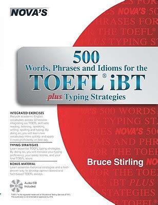 Kunci Sukses Toefl Ibt Cd Audio Js 楽天ブックス 500 words phrases idioms for the toefl ibt plus typing strategies with cd audio