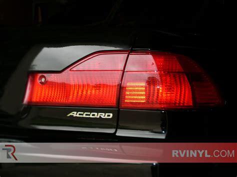 rtint honda accord sedan   tail light tintfilm