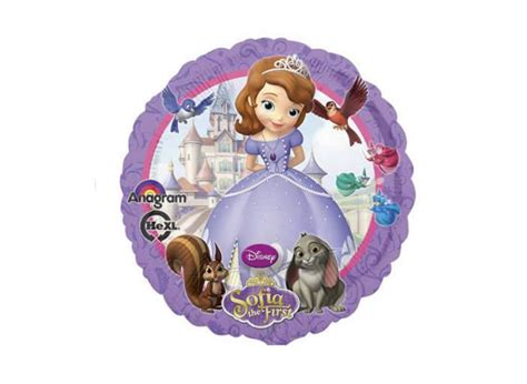 Balon Foil Princes Sofia By Esslshop2 sofia the supplies sweet pea