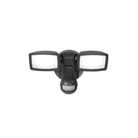 outdoor motion sensor flood light reviews defiant 180 degree 1 head black led motion sensing battery