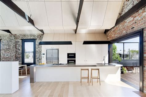 warehouse kitchen design former 19th century industrial warehouse converted into modern residence idesignarch