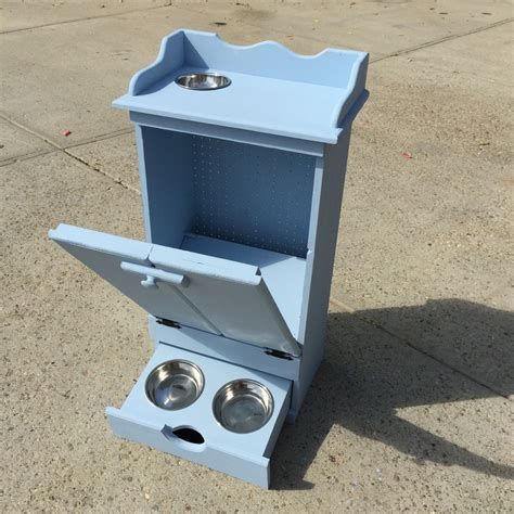 pet feeding station cabinet pet feeding station diy blocks from the heart