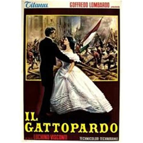 il gattopardo italian edition italian movie poster visconti il gattopardo