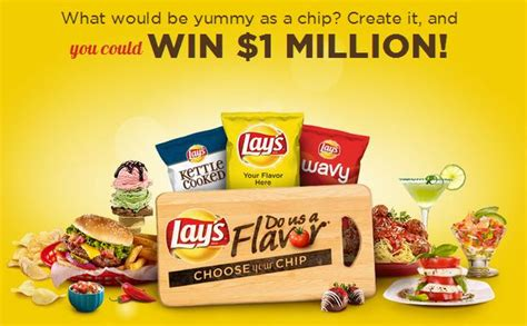 Lays Chips Sweepstakes - lay s do us a flavor choose your chip contest