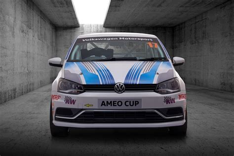 volkswagen ameo 2017 2017 volkswagen ameo cup car is the fastest vw racer built