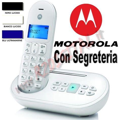messaggi per segreteria telefonica ufficio telefono cordless dect motorola t111 con segreteria