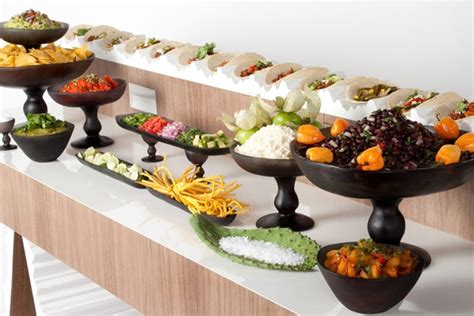 Spokane Wedding Caterers Mangia Catering Taco Buffet Ideas