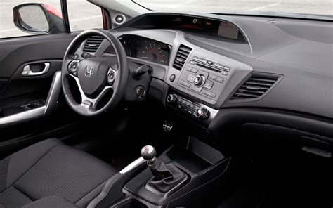 2012 honda civic si coupe interior photo 4