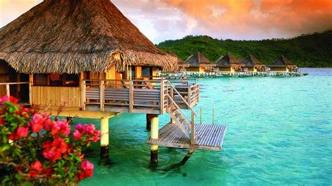 overwater bungalow bora bora mystically beautiful