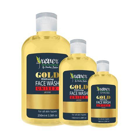 Whitening Gold Wash Rossa gold whitening wash 4ever