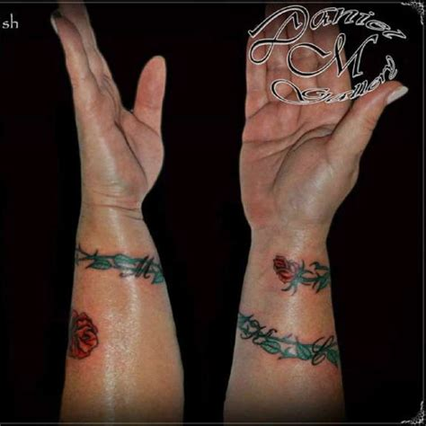 flower vine wrist tattoos 47 attractive band tattoos for your writs