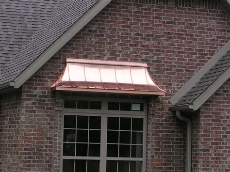 copper window awning awnings waterwayssheetmetal com