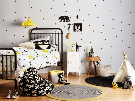 yellow black and white bedroom ideas ebabee likes 5 of the best black and white kids rooms