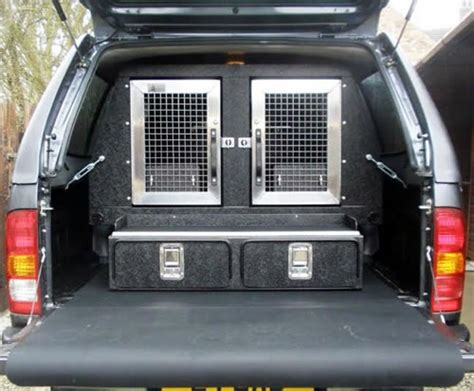 truck bed dog box toyota pickup dog box