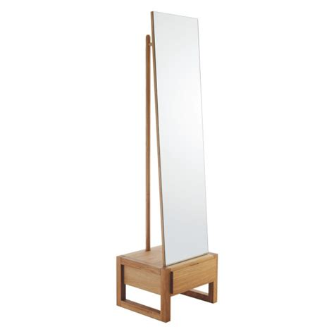 hana ii freestanding mirror  storage qualita