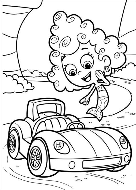 bubble guppies coloring pages games free coloring pages of le bubble guppies